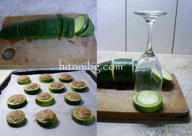 приготвяне на кюфтета в тиквички