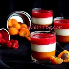 Домашен плодов крем - желиран