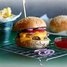 Домашни бургери - моята рецепта