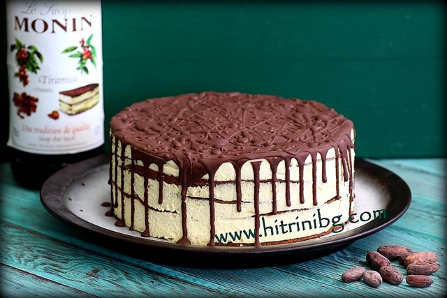 торта Американа с шоколад