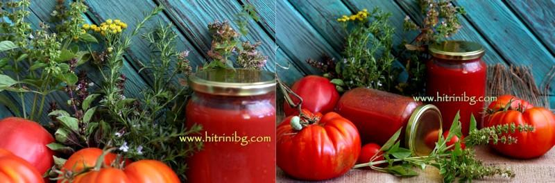 презентация на доматен сос