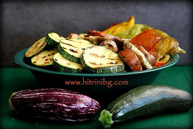 продукти за гриловани зеленчуци