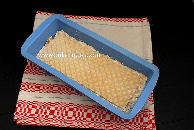 приготвяне на халва с вафлени кори
