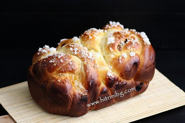 Презентация на козунака в хлебопекарна