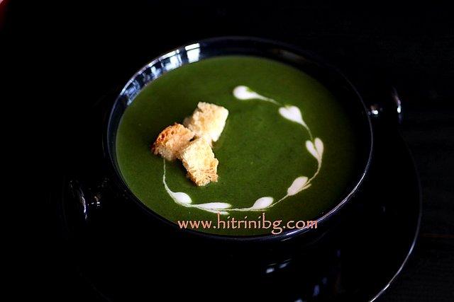 презентация на спаначена крем супа