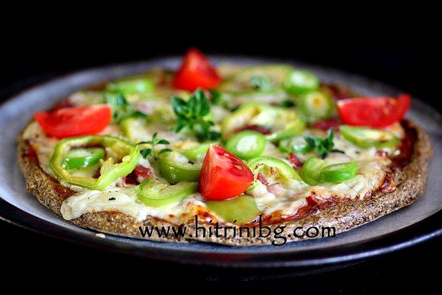 презентация на пица без брашно