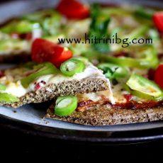Пица без брашно - моята рецепта