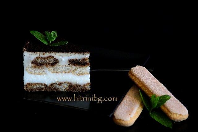 торта с нишесте и кафе