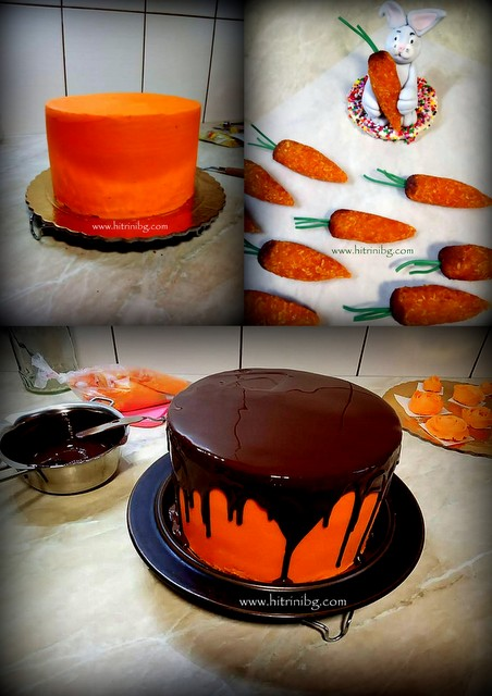 приготвяне на морковената торта