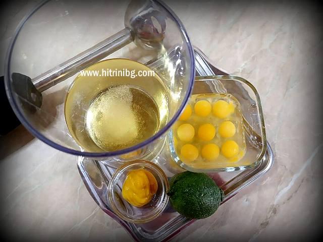 продукти за майонеза от пъдпъдъчи яйца