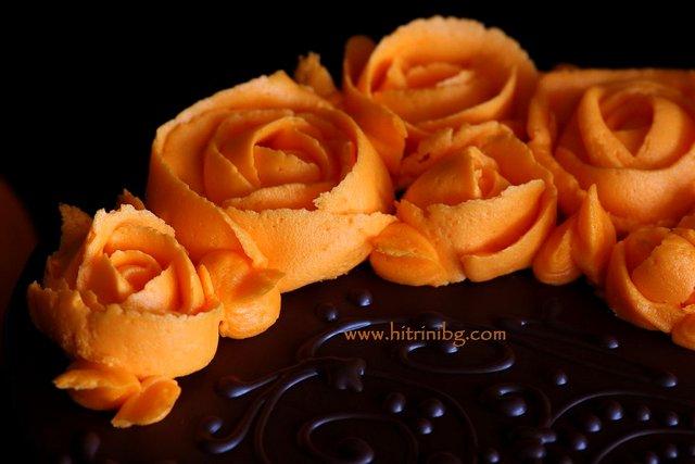 розички за тортата от моркови