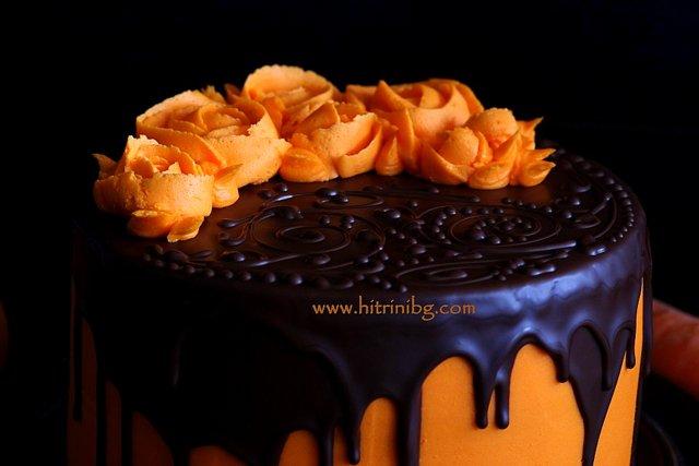 морковената торта за рожден ден