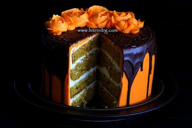 морковена торта крем