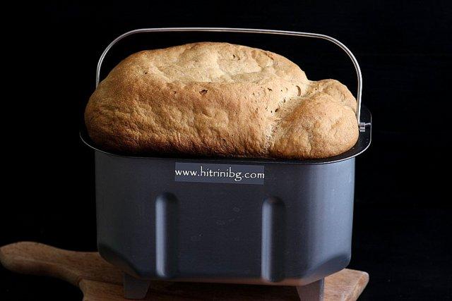 хляб в хлебопекарна
