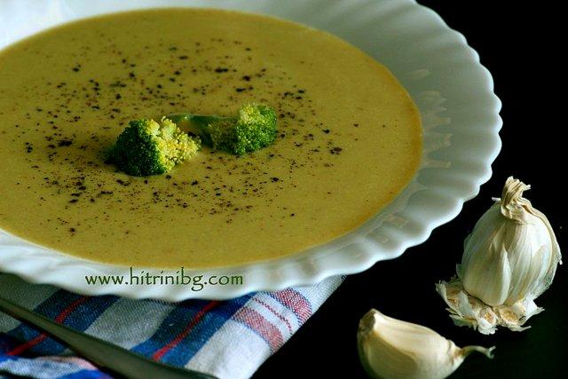 крем супа от броколи