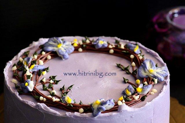 торта пролет за празник