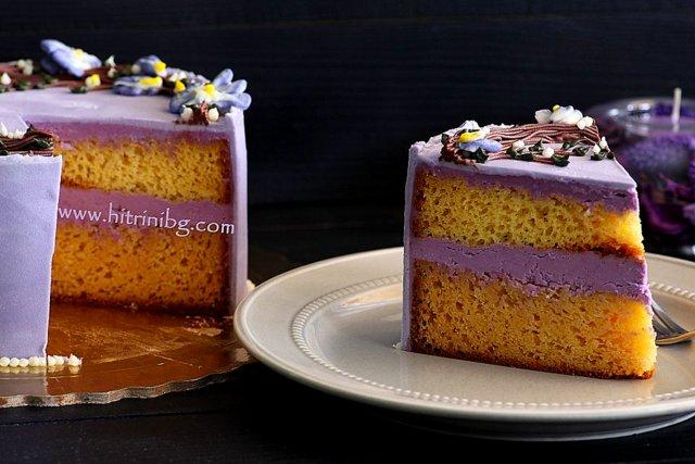 прекрасна торта пролет