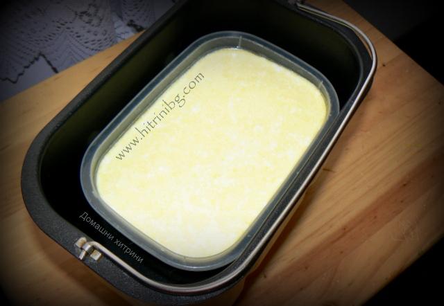 Заквасване на кисело мляко в хлебопекарна