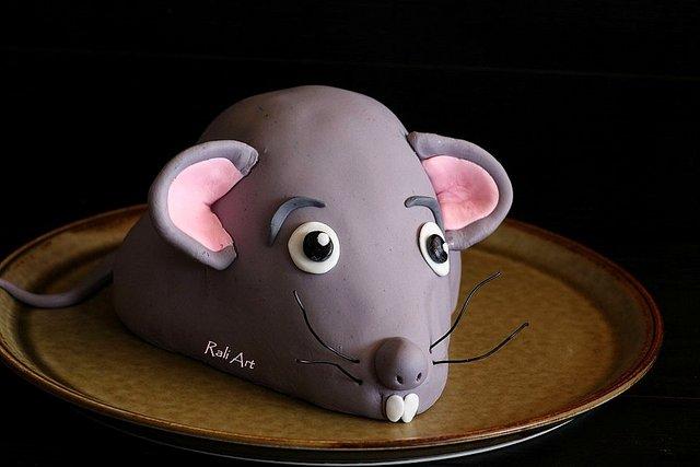 забавна торта мишка