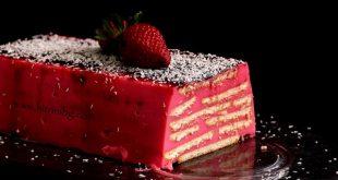 домашна бисквитена торта с нишесте