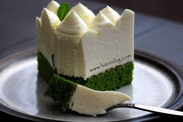 Торта мус със спанак
