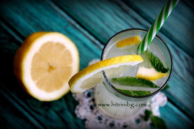 коктейл джин фис
