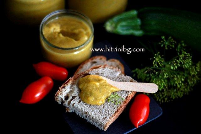 Домашен сос от тиквички
