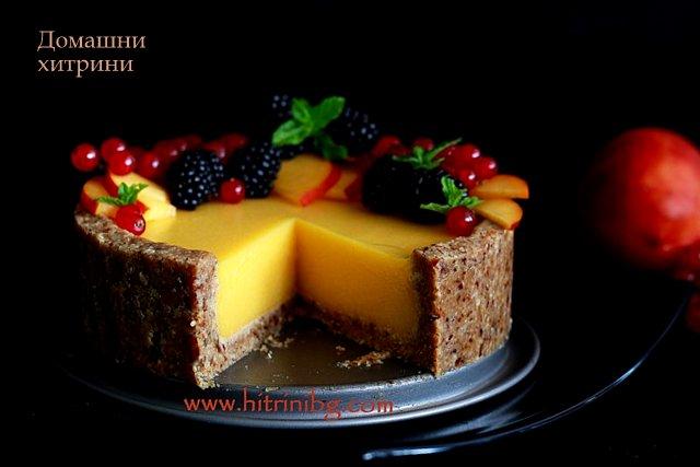 Прекрасна веган торта