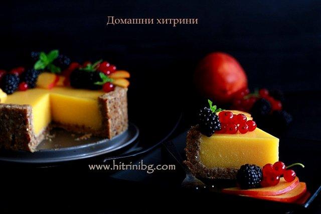 Веган тортата за десерт