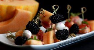 апетайзери с плодове