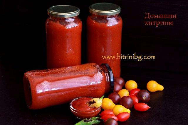 сос от чери домати