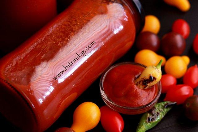 вкусен сос от черита