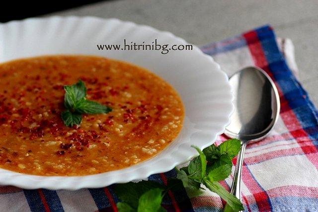 Турска супа езогелин