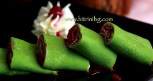 Зелени палачинки със спанак