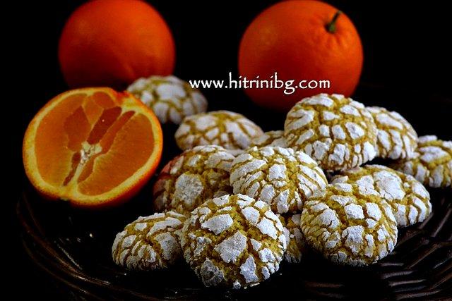 Напукани портокалови сладки