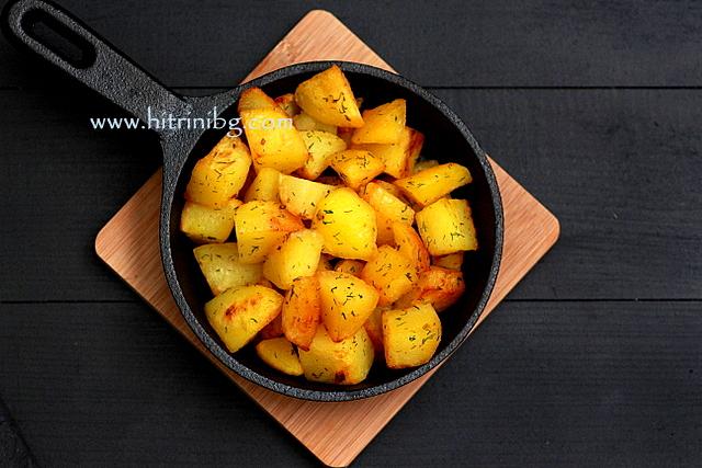 Картофите соте