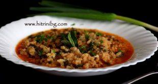 Яхния с ориз