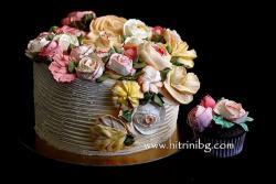 Торта червено кадифе - подробна рецепта