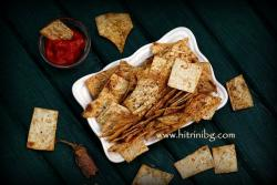 Домашен чипс от лаваш