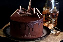Шоколадов медовик - подробна рецепта