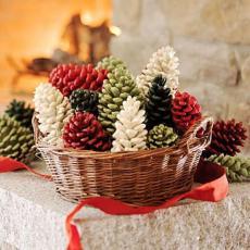 шишарки за декорация на елхата
