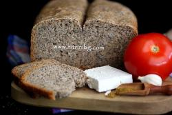 Черен хляб със семена за хлебопекарна