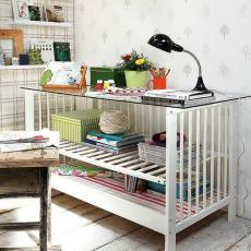 Шкаф от детско креватче