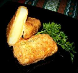 паниран кашкавал - лесна рецепта