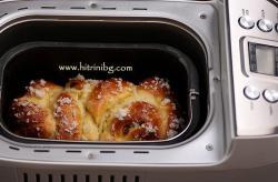 Козунак в хлебопекарна - приготвяне