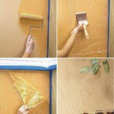 Ефект при боядисване на стени