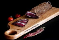 Сушен свински врат - домашна рецепта
