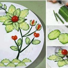 декорация за салата и предястие