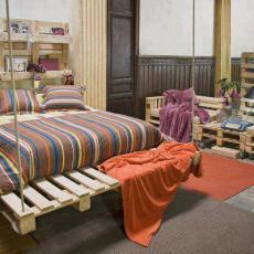Уникално обзавеждане за спалня