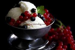 Домашен сметанов сладолед
